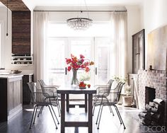 twelve chairs boston: magazine monday > myself a super fan of her 1860s Brooklyn Brownstone