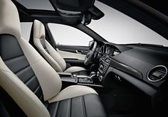 c63 amg sedan interior