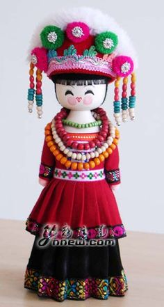 National Costumes Doll(China)