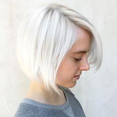 Icy blond bob - Insurance For Your Client's Hair. Go Blonder. Push the envelope further without compromising the integrity of hair.