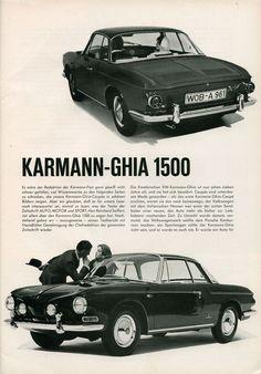 VW typ 34 Karmann Ghia 1961