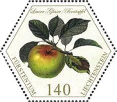 Sello: Apples (Liechtenstein) (Old Fruit Varieties) Mi:LI 1767,Sn:LI 1774,Zum:LI 1718