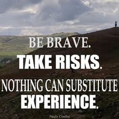 |Be Brave. Take a Risk| #HappyWednesday #Traveler #Wanderlusting #Wanderlust #Wednesday #Travel #Explore #TravelQuotes #TravelInspiration #TravelAdvice #TravelTips #Travelgram #InstaTravel #Explore #Abroad #Nature #Backpacking #Vagabond #Vacation #TakeRisks #LuvGypsy #FreeSpirit #WorldTraveler #Passport #Abroad #Adventure #Journey #Fly #JustGo #Expereince  ( Credit to photo owner)