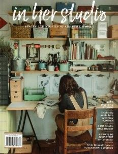 In Her Studio Magazine Art Studio At Home Art Studio Space Art