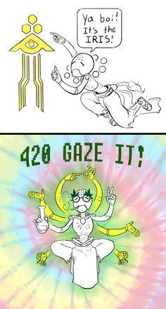 Gaze Iris Everday