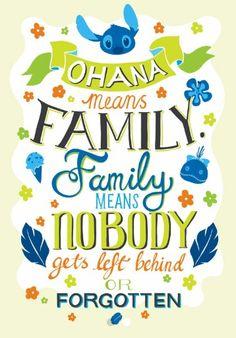#Disney #Ohana #Family #Lilo&Stitch