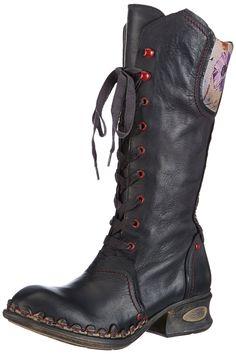 Rovers Arana, Boots femme - Noir, 36 EU