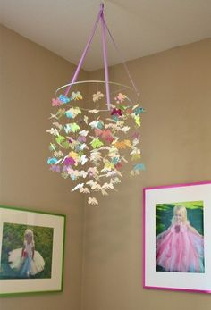 butterfly mobiles | butterfly mobile | Crafts