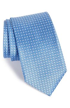 John+W.+Nordstrom®+'Beckham'+Check+Silk+Tie+(X-Long)+available+at+#Nordstrom