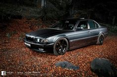 BMW E38 7 series black by Vilner