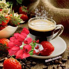 Coffee with love ❤️ Coffee Gif, Coffee Images, Coffee Pictures, Coffee Love, Coffee Break, Coffee Cups, Good Morning Gift, Good Morning Coffee, Gif Café