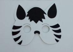 molde mascara de bicho | Máscara Zebra em E.V.A Máscara Zebra em E.V.A Máscara Zebra em E.V ...