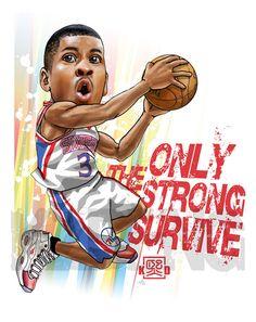 NBA caricature drawing vol.1