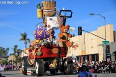 floats of the 123rd Tournament of Roses Parade