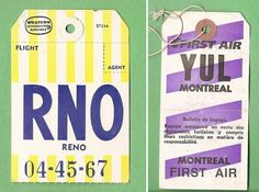 For more old airline baggage tags. Montreal, Best Weight Loss Program, Typography Layout, Travel Party, Branding, Vintage Luggage, Stationery Paper, Print Design, Graphic Design