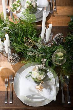 Home Decor    Winter Table Setting Inspiration with @TheBrick Colby ...
