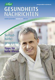 """November-Ausgabe der Zeitschrift """"A.Vogel Gesundheits-Nachrichten"""". Infos: http://www.avogel.ch/de/gesundheits-nachrichten/index2.php"""
