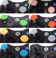 Rubber Thumbstick Covers are available in 8 different colors and can be added to ANY GamingModz PlayStation 3 controller. All of our Xbox 360 Modded Controllers are compatible with every major game on the market today. You can also purchase a customized PS3 Controller without any mods pre-installed. Watch the video now: http://youtu.be/_8mmp0AcEpc