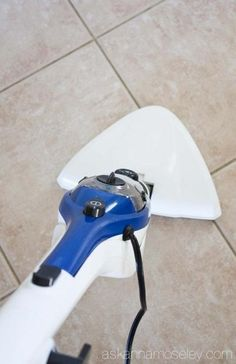 How to Clean Tile Grout without Chemicals & a Giveaway! - Ask Anna