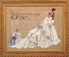 The Wedding by Lavender and Lace - Cross Stitch Kits & Patterns