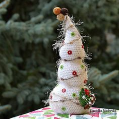 Merry+Christmas:++crochet+tree+van+VendulkaM+op+Etsy