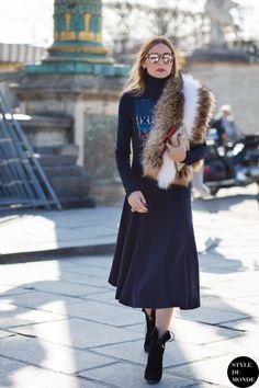 #New on #STYLEDUMONDE http://www.styledumonde.com with @oliviapalermo #OliviaPalermo at #paris #fashionweek #pfw #outfit #ootd #streetstyle #streetfashion #streetchic #snobshots #streetsnaps #fashion #mode #style