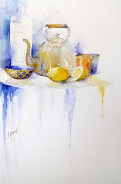 Josette Marrel WATERCOLOR