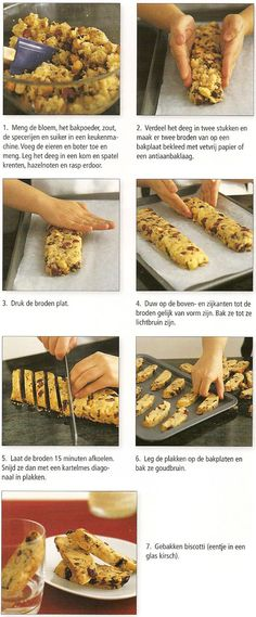 Recept biscotti - Koken
