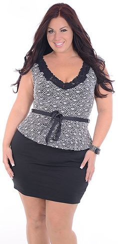 Another (Plus)-Great Glam is the web's best sexy plus size online store clothing website for 1X 2X and 3X clothes for women and juniors.