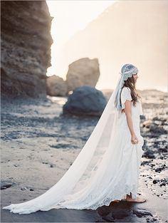 New Zealand Beach Bridal Session captured by Erich McVey #beachybride #bridalsessiontips #weddingchicks http://bit.ly/1j2Ab8Z