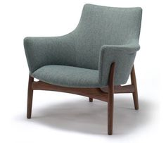 The Kitani Easy Chair. Beautiful Japanese craftsmanship with a nod to the Scandinavian aesthetic.