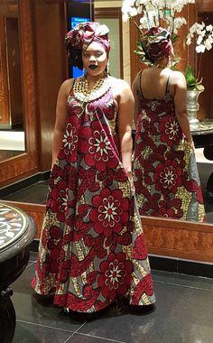 Ankara print maxi dress/ African print maxi dress/ african womens clothing/ maxi dress – Lady Seray- by GITAS Portal Long African Dresses, Latest African Fashion Dresses, African Print Dresses, African Print Fashion, Ankara Maxi Dress, Shweshwe Dresses, African Traditional Dresses, African Attire, African Design