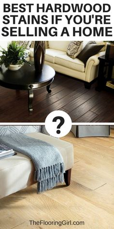 Best hardwood stains if you're selling a house #hardwood #flooring #stains #sellhouse #realestate