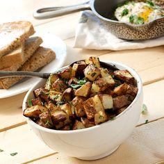 Lemon Parsley Breakfast Potatoes