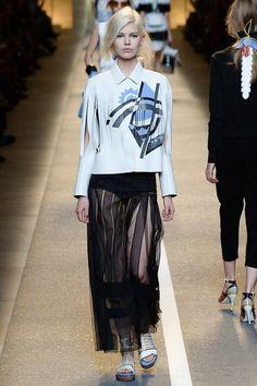 Fendi womenswear, spring/summer 2015, Milan Fashion Week