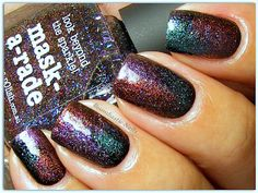 Boombastic Nails: Up Colors Multicores & Picture Polish Mask-a-rade