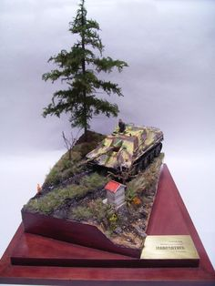 Scale Military Tank Models.