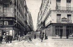 Nantes-rue Jean Jacques Rousseau