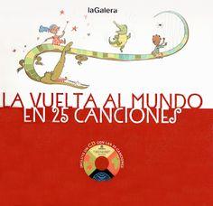CDS DE MÚSICA - La vuelta al mundo en 25 canciones ~ Educación Preescolar, la…