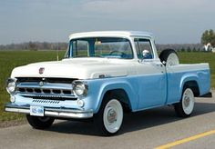 1957 Ford F-100 Styleside Pick-Up.
