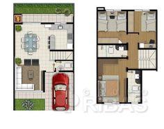 Casa à venda com 3 Quartos, Santa Cândida, Curitiba - R$ 269.000, 87 m2 - ID: 2926248039 - Imovelweb