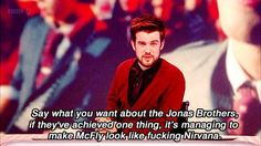 When he perfectly summed up the cultural legacy of the Jonas Brothers. | 19 Times Jack Whitehall Totally Out-Bantered Everyone