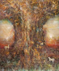Tree of Life Garden Of Eden, Tree Of Life, Figurative Art, Layout, Modern, Paintings, Design, Contemporary Art, Life