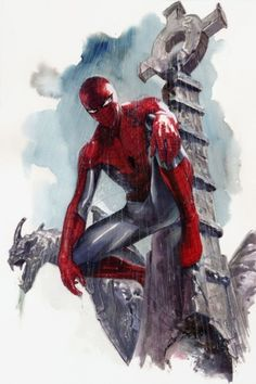 #Spiderman #Fan #Art. (Spider-Man) By: Gabriele Dell'Otto. (THE * 5 * STÅR * ÅWARD * OF: * AW YEAH, IT'S MAJOR ÅWESOMENESS!!!™)[THANK Ü 4 PINNING!!!<·><]<©>ÅÅÅ+(OB4E)
