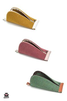 Cute colorful pencil cases for school. Pencil zipper pouch made of wool felt. Perfect to store you pencils and other stationery. Makeup Pouch, Makeup Bags, Wedding Gifts For Bride, Bride Gifts, Vegan Leather Makeup Bag, Pencil Pouch, Pencil Cases, Colored Pencil Case, Groom Pictures
