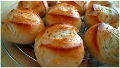 Einfache, aber köstliche DDR-Brötchen – RezepteBlog.net Brunch Recipes, Sandwiches, Food And Drink, Bread, Dinner, Breakfast, Buffets, Baguette, Snacks