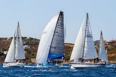 Visit Greece | Aegean Rally 2018 #events #aegean #rally #summer #islands #visitgreece Wall Pepar, Athens Hotel, Set Sail, Sailing Ships, Rally, Visit Greece, 30 July, Boat, Travel Tourism