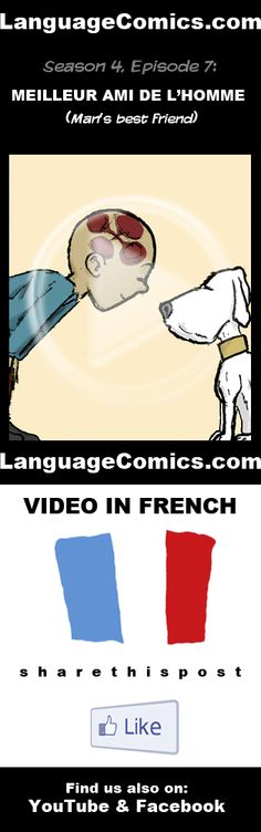 Practice your pronunciation and learn #French with this episode and many more. Enjoy and share! http://www.youtube.com/watch?v=MSbrPNrcgac --------------------------------------------- Also find us on http://www.Facebook.com/LanguageComics and http://www.YouTube.com/LanguageComicsTeam