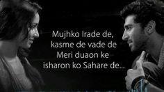 Meri aashiqui ab tum hi ho Bollywood Movie Songs, Bollywood Quotes, Couple Quotes, Movie Quotes, Love Song Lyrics Quotes, Music Lyrics, Best Song Lines, Poetry Text, Urdu Poetry