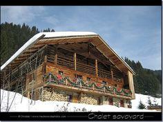 chalet savoyard situé dans la vallée du Bouchet au Grand Bornand